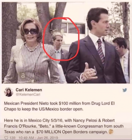 pelosi and beto and nieto