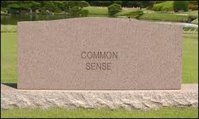 common sense tombstone