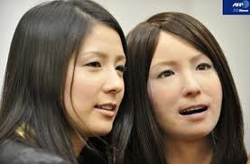 Can you tell the real person from the DARPA produced robot? Will human looking robots replace human slaves?