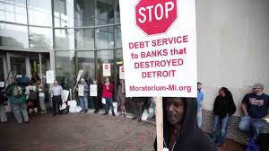 detroit and the banks