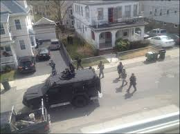 The military take over of Boston