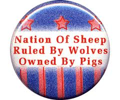 nation of sheep ruled wolves