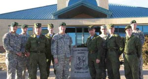 Russian and American troops in Fort Carson, Colorado.