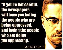 malcom x hating the victim