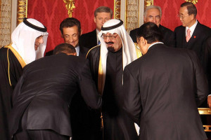 ...but he will bow to a Saudi Prince