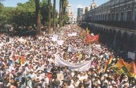 The World Bank and Bechtel's control of Bolivian water led to massive civil disobedience and violence.