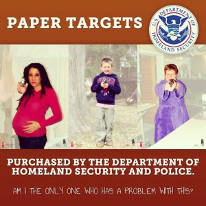 DHS target practice sheet. Any questions?