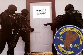 cops wrong house
