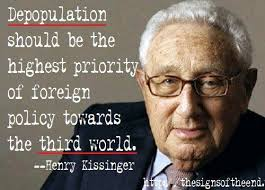 kissinger depopulation
