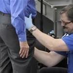 TSA perverted pat down.