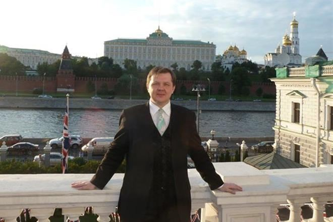Kokorev's Facebook photo as published in Russian publication