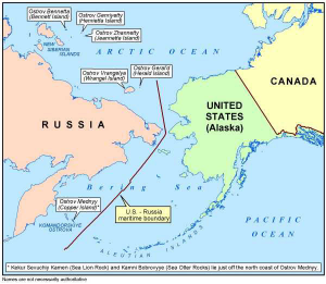 Putins Plans To Seize Eastern Europe And Alaska Dave Hodges - Alaska over the us map