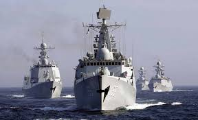 chinese warships