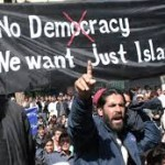 MUSLIMS NO DEMOCRACY