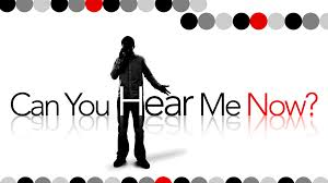 can you hear me now poster