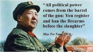 Mao wrote the evolving Obama gun control play-book.