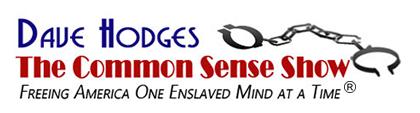 Dave Hodges – The Common Sense Show Logo